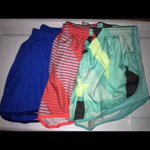 Nike Lined Dri-Fit Lot of 3